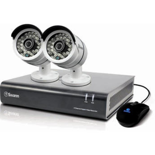 Pro-Series 4-Channel 1080p DVR with 1TB HDD and 2 1080p Bullet Cameras