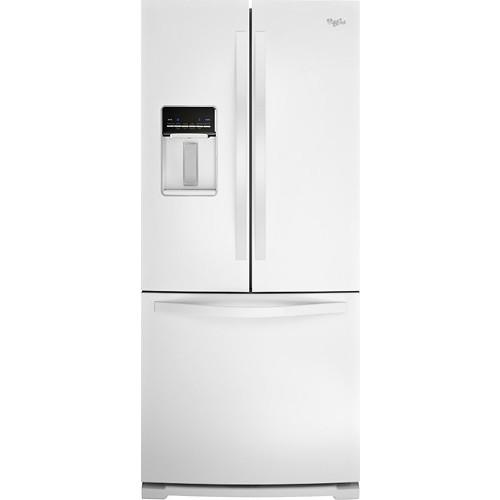 Whirlpool WRF560SEYW 19.5 Cu. Ft. White French Door Refrigerator - Energy Star