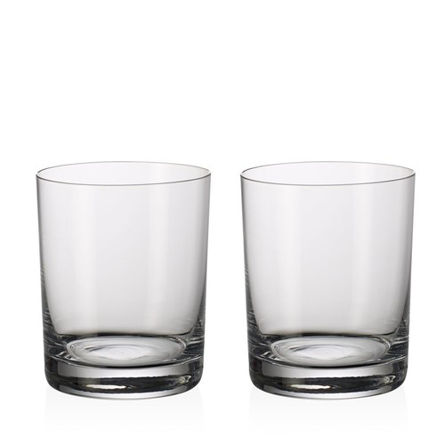 Purismo Bar Double Old Fashioned Glass, Set of 2