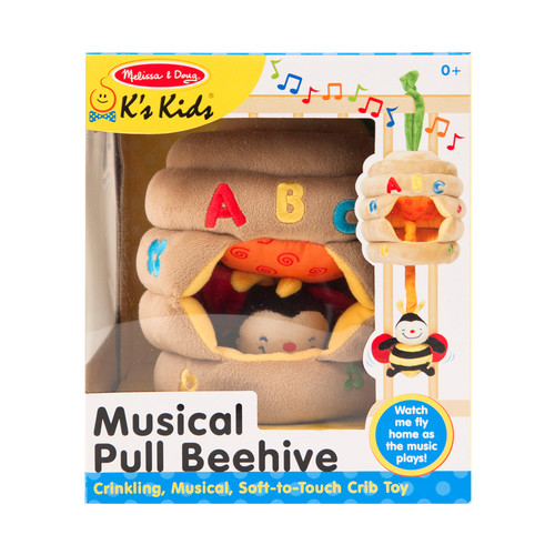 Musical Pull Beehive by Melissa & Doug