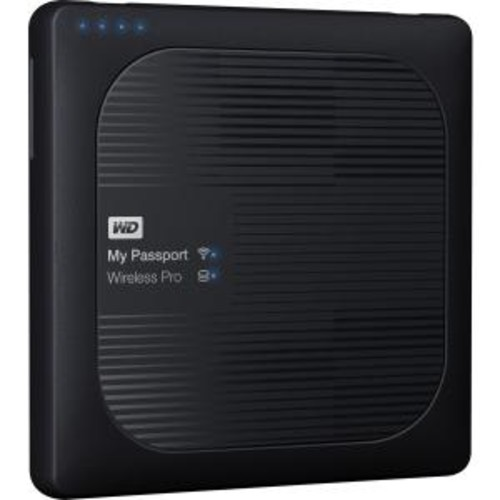 My Passport Wireless Pro 3TB External Hard Drive, USB 3.0 WDBSMT0030BBK-NESN