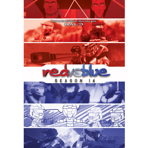 Red vs. Blue: Season 14 [DVD]