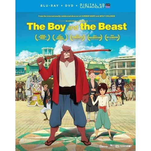 The Boy and the Beast [Includes Digital Copy] [UltraViolet] [Blu-ray/DVD] [2 Discs] [2015]