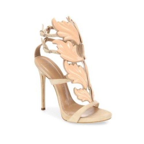 Coline110 Winged Suede Sandals