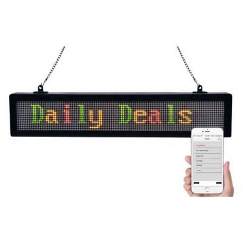 Royal Sovereign LED Scrolling Message Sign Board (RSB-1510)