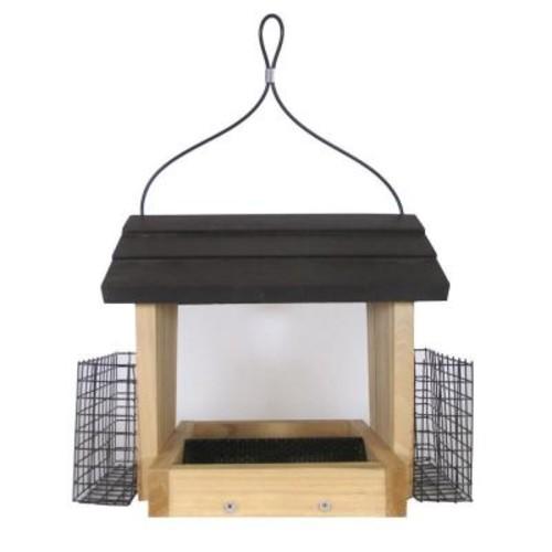 Nature's Way Bird Products 3 Qt. Cedar Hopper with Suet