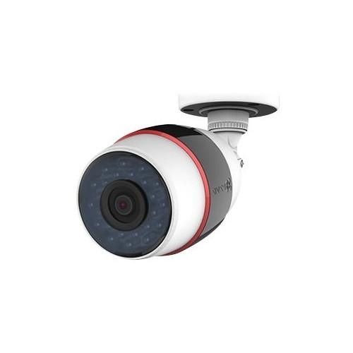 EZVIZ - Outdoor 1080p Wi-Fi Network Surveillance Camera - Black/Red/White
