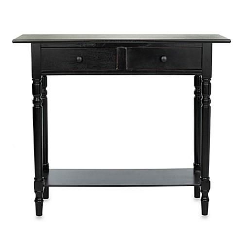 Safavieh Rosemary Console Table in Black [Finish : BLACK]