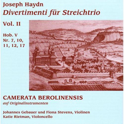 Haydn: Divertimenti fr Streichtrio, Vol. 2 [CD]