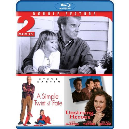 A Simple Twist of Fate & Unstrung Heroes - Blu-ray Double Feature: Steve Martin, Andie MacDowell, Gabriel Byrne, John Turturro, Gillies MacKinnon, Diane Keaton: Movies & TV
