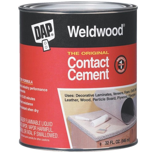 Dap 00272 Weldwood The Original Contact Cement 1-Quart