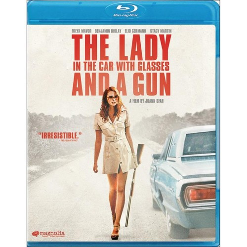 The Lady in the Car with Glasses and a Gun [Blu-ray] [2015]