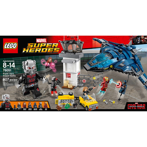 LEGO Super Heroes Marvel Super Hero Airport Battle (76051)