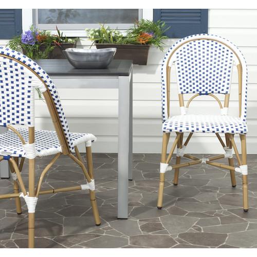 Safavieh Salcha Patio Side Chair 2/pk