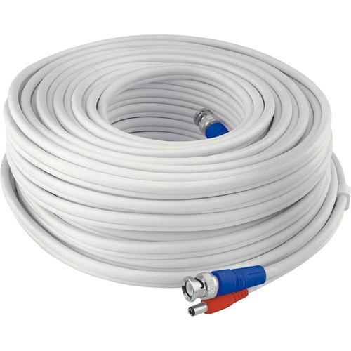 Swann - 100' BNC Video/Power Camera Extension Cable - White