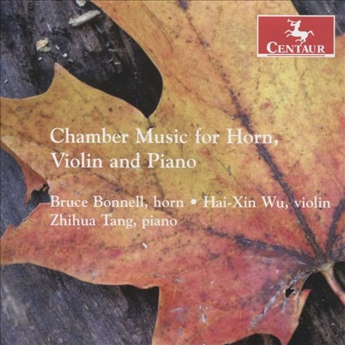 Chamber Music for Horn, Violin and Piano [CD]