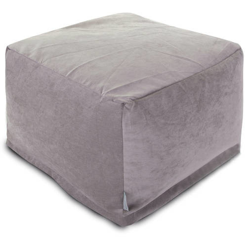 Majestic Home Goods Villa Bean Bag Ottoman