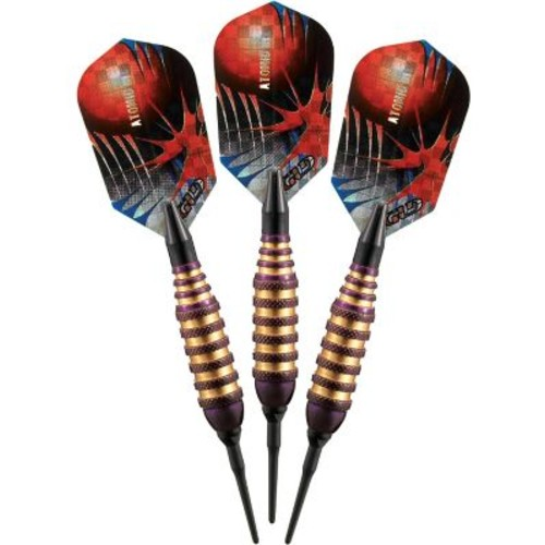 GLD Products Viper Spinning Bee Soft Tip Dart Set; Purple