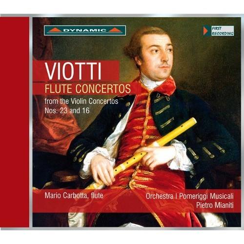 Viotti: Flute Concertos from the Violin Concertos Nos. 23 & 16 [CD]