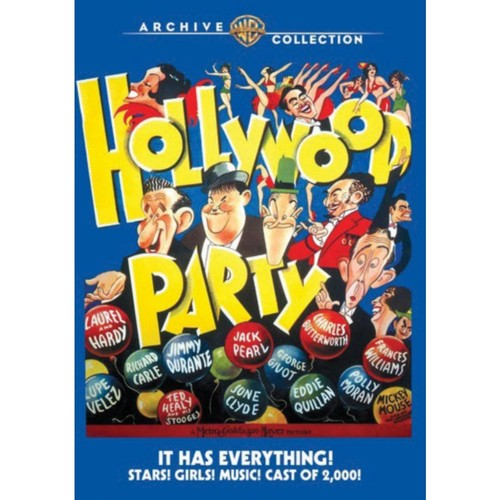 Warner Bros Hollywood Party, 1934, DVD