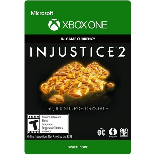 Injustice 2: 50,000 Source Crystals - Xbox One [Digital Code]