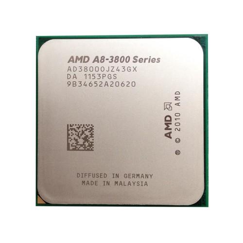 AMD A8-3800 2.4GHz 65W Quad Core Processor Socket FM1 AD3850WNZ43GX desktop CPU