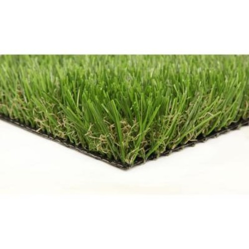 GREENLINE Classic Premium 65 Spring 15 ft. x 25 ft. Artificial Synthetic Lawn Turf Grass Carpet for Outdoor Landscape