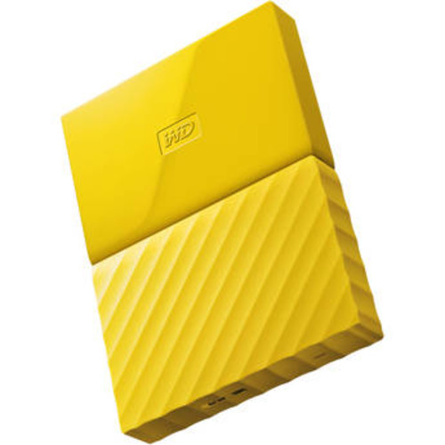 3TB My Passport USB 3.0 Secure Portable Hard Drive (Yellow)