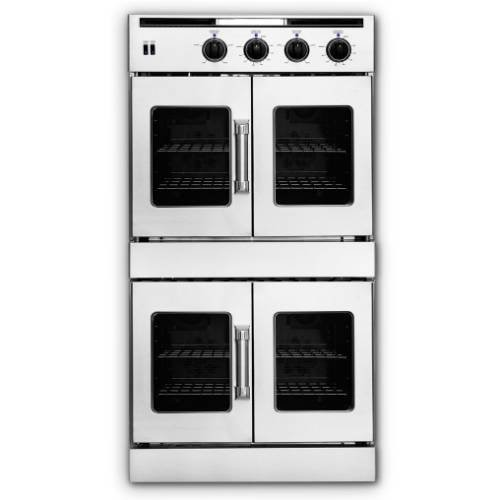 American-Range Legacy Series 30 In. Stainless Steel Dual Fuel Wall Oven - AROFFHGE230N