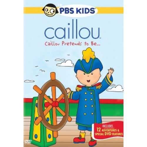 Caillou: Caillou Pretends to Be... [DVD]