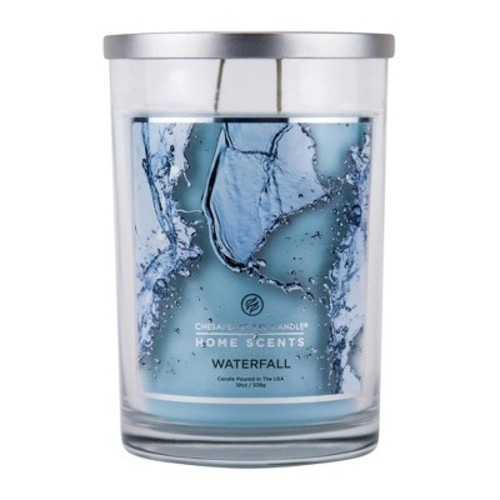 Jar Candle Waterfall 19oz - Home Scents by Chesapeake Bay Candles
