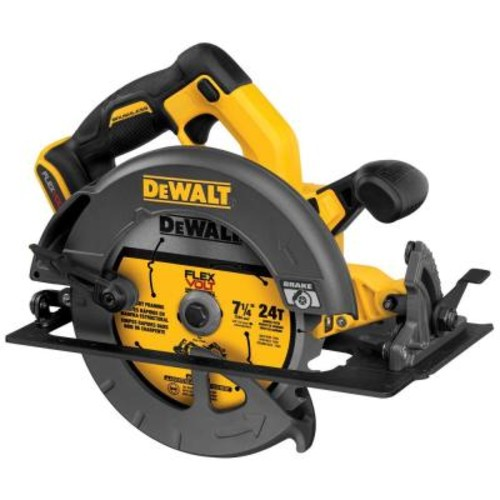 DEWALT FLEXVOLT 60-Volt MAX Lithium-Ion Cordless Brushless 7-1/4 in. Circular Saw (Tool-Only)