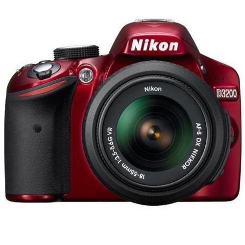 Nikon D3200 DSLR Camera w/18mm-55mm Nikkor VR Lens 25496 B