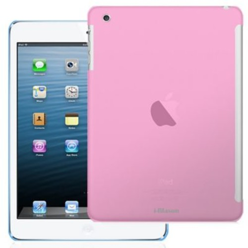 i-Blason IPAD5-TPU-PINK Thermoplastic Polyurethane (TPU) Skin Case for Apple iPad Air, Pink