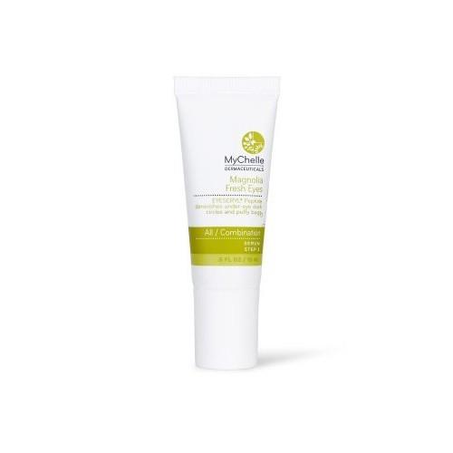 MyChelle Magnolia Fresh Eyes, Hydrating and Refreshing Eye Cream for All Skin Types, 0.5 fl oz