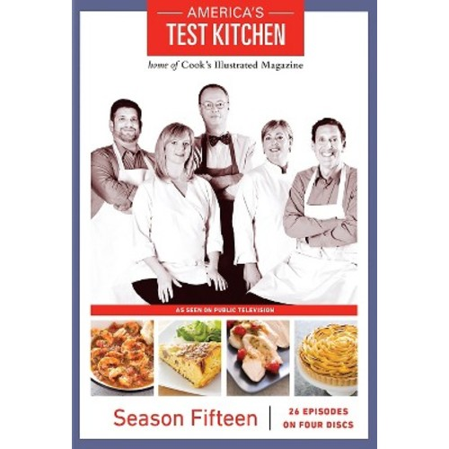 America's Test Kitchen: Season 15 [4 Discs] [DVD]