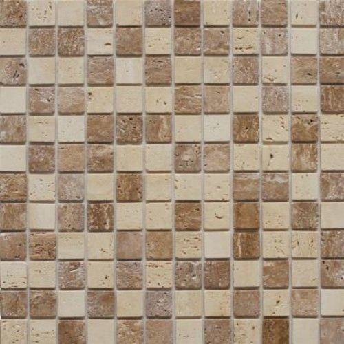 Instant Mosaic Peel and Stick Stone Wall Tile - 3 in. x 6 in. Tile Sample