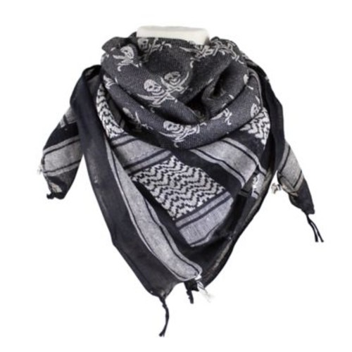 Red Rock Outdoor Gear Tactical Shemagh Head Wrap in Jolly Roger