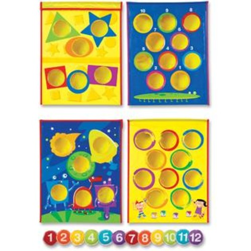 Learning Resources Smart Toss Shapes 12 Pieces Multi