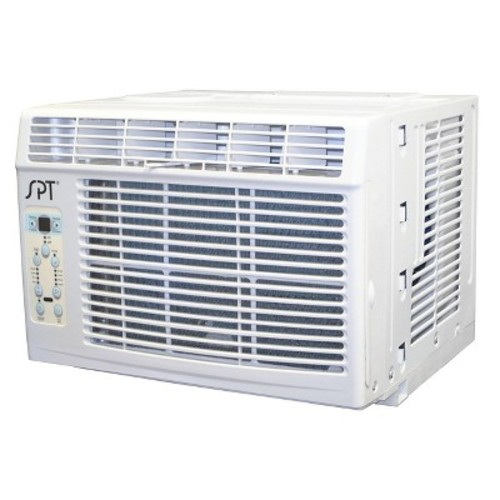 Sunpentown - 6000-BTU Energy Star Window Air Conditioner - White