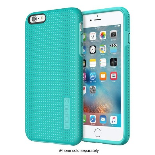 Incipio - DualPro Highwire Hard Shell Case for Apple iPhone 6 Plus and 6s Plus - Turquoise