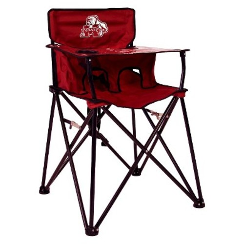 ciao! baby Mississippi State Bulldogs Portable Highchair in Maroon