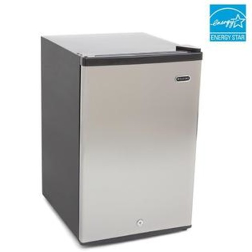 Whynter CUF-210SS Energy Star 2.1 cu. ft. Stainless Steel Upright Freezer with Lock