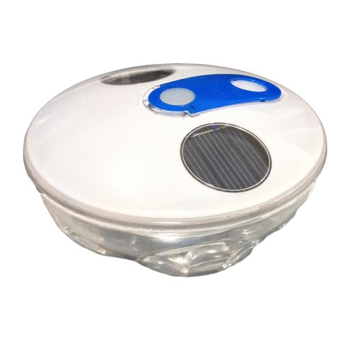 Blue Wave Solar Underwater Light Show Floating Pool Light