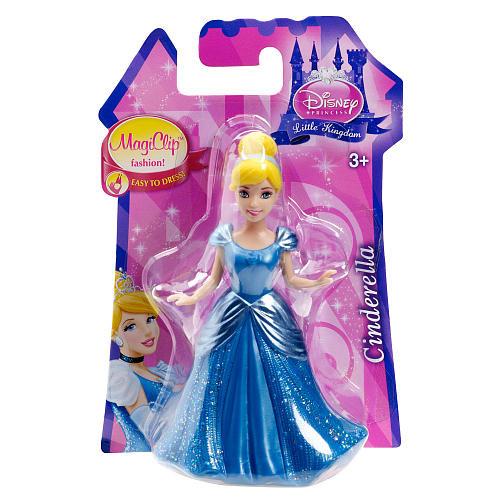 Disney Princess Little Kingdom MagiClip Fashion Cinderella Doll