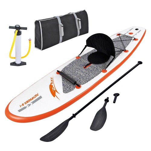 Stingray 10-ft Inflatable Stand Up Paddleboard w/ Paddle & Hand Pump