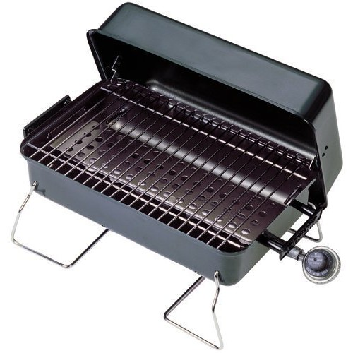 Portable Gas Grill Black