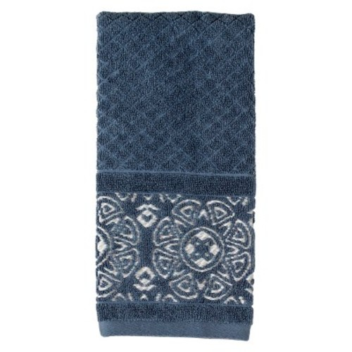 Karma Cotton Hand Towels Blue - Saturday Knight Ltd.