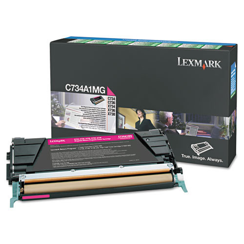 Lexmark Toner Cartridge Model X748H1MG Page Yield 10000 (LEXX748H1MG)