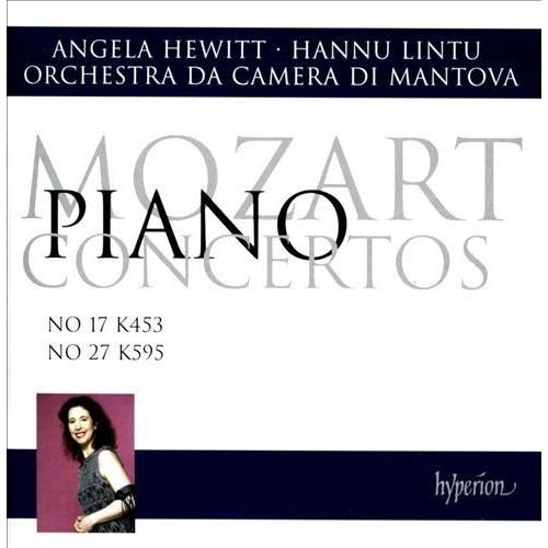 Mozart: Piano Concertos No. 17 K 453, No. 27 K595 [CD]